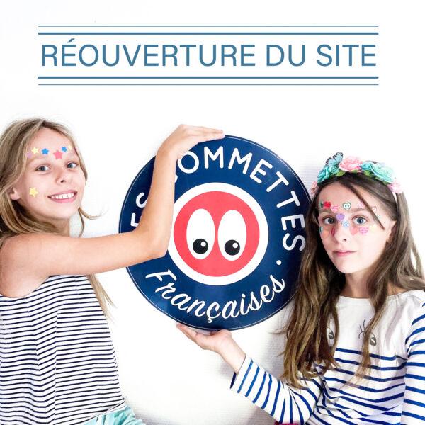 Réouverture du site | Les gommettes françaises