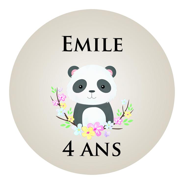 Anniversaire Panda