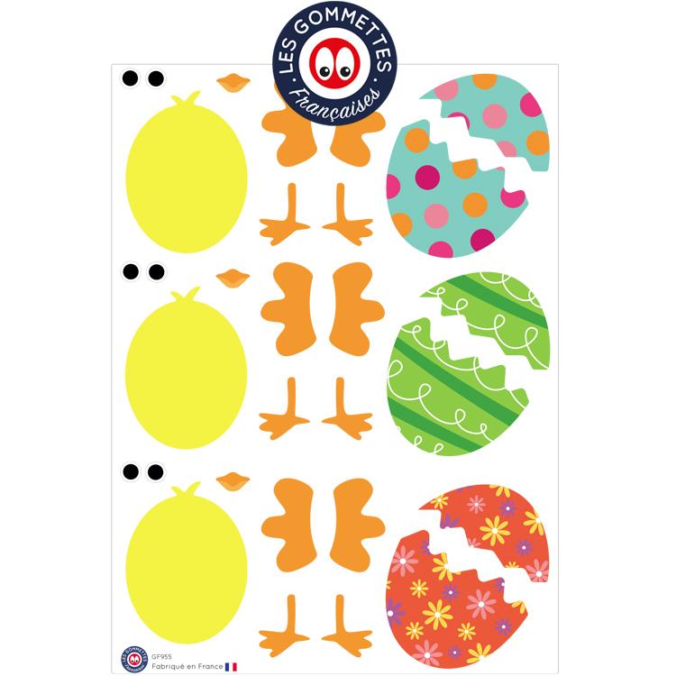 Les gommettes de Pâques | Les Gommettes Françaises | Gommettes fabriquées en France