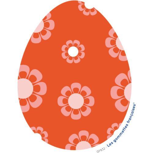 Stickers oeuf de Pâques | Les gommettes françaises | Made in France