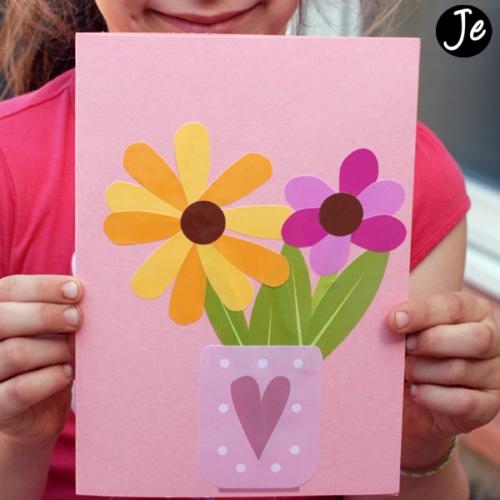 Gommettes fleur à assembler | Les gommettes françaises | Fabriquées en France