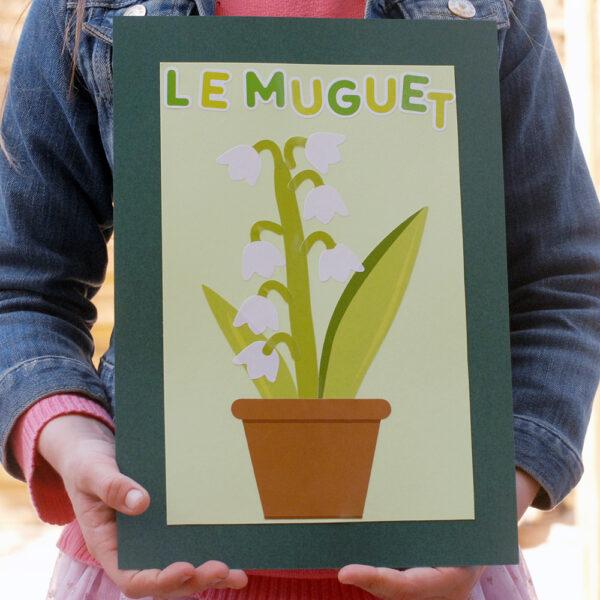 Gommettes Muguet à assembler | Les Gommettes Françaises | Made in France